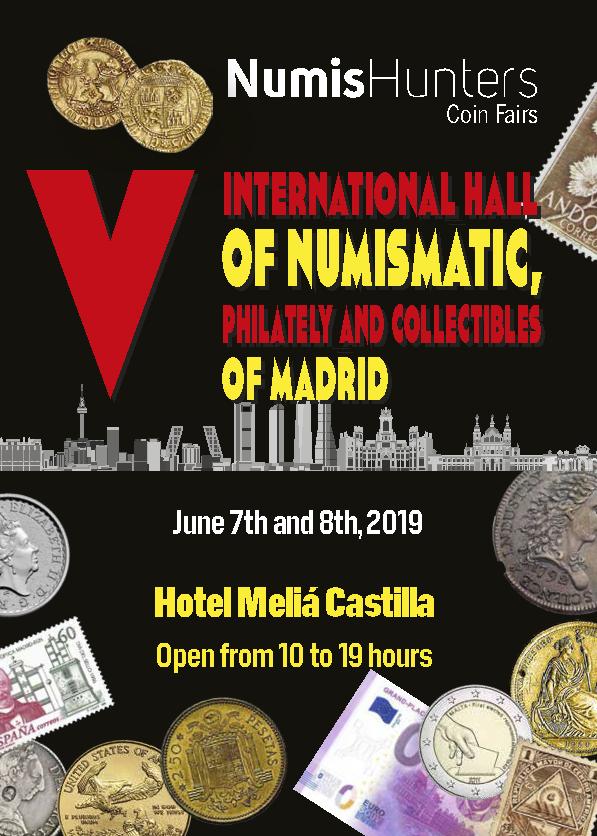 CONVENCIÓN NUMISMÁTICA MADRID 2019 - 7 Y 8 JUNIO V_feri10