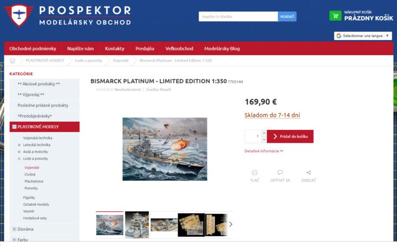 Trouvé!: Bismarck Revell Platinum Prospe10