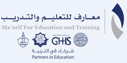 19 وظيفة للجنسين براتب 5600 في شركة معارف للتعليم والتدريب المحدودة 2547