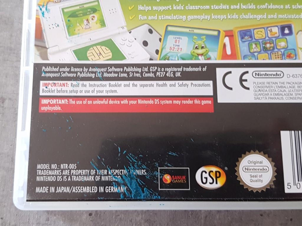[Vendu] GameBoy Advance IPS V2 [ECH] Jeux DS en boite [RECH] Boite vide DS, jeux GBA 20190614