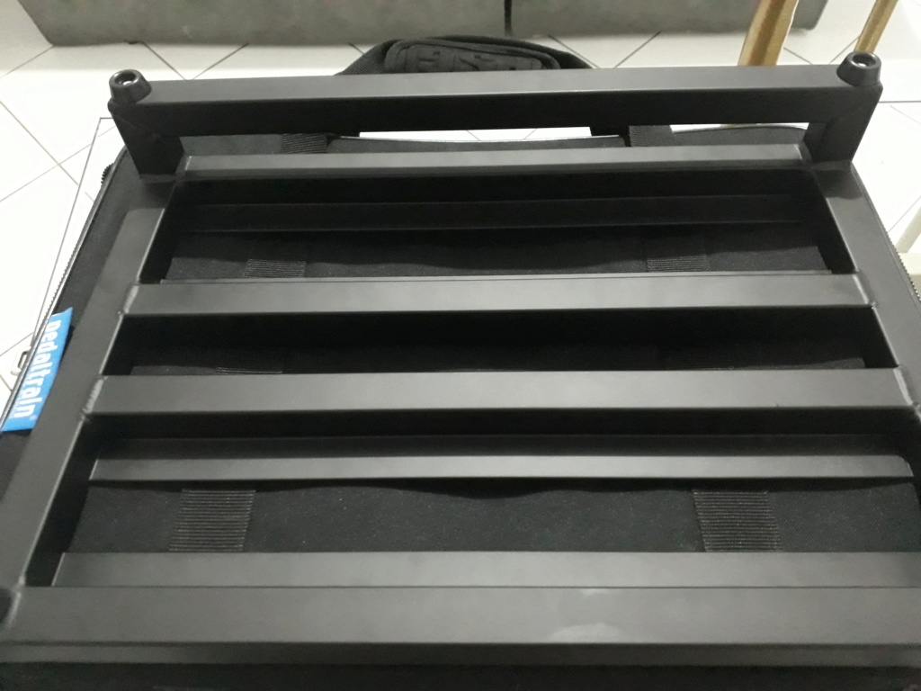 Pedaltrain Classic Jr + Softbag + Cabos 20200414