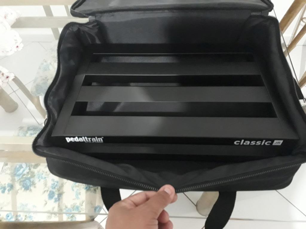 Pedaltrain Classic Jr + Softbag + Cabos 20200417