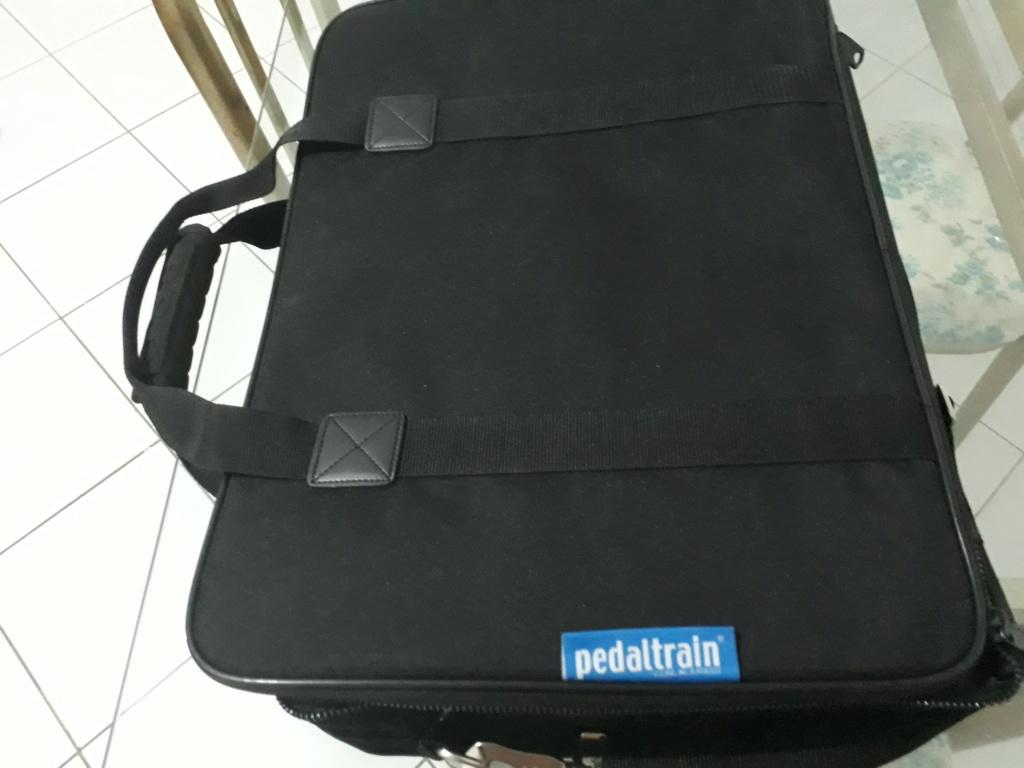 Pedaltrain Classic Jr + Softbag + Cabos 20200419