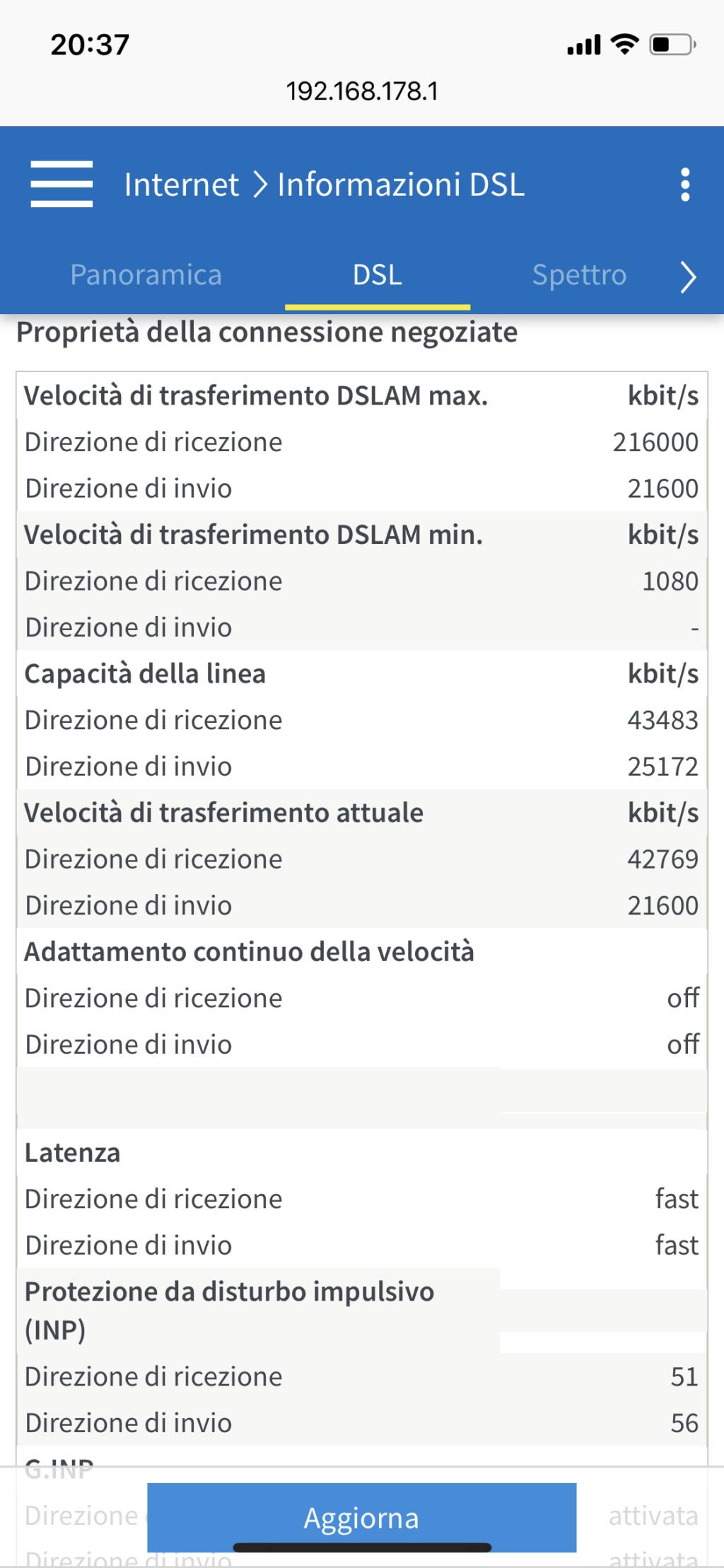 7530 continue disconnessioni con adsl 32876d10
