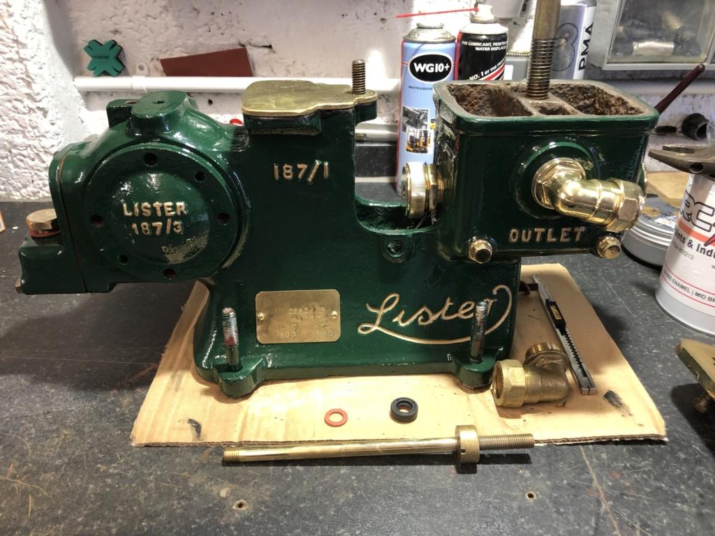 Lister Domestic Pump Rebuild 361m4q10