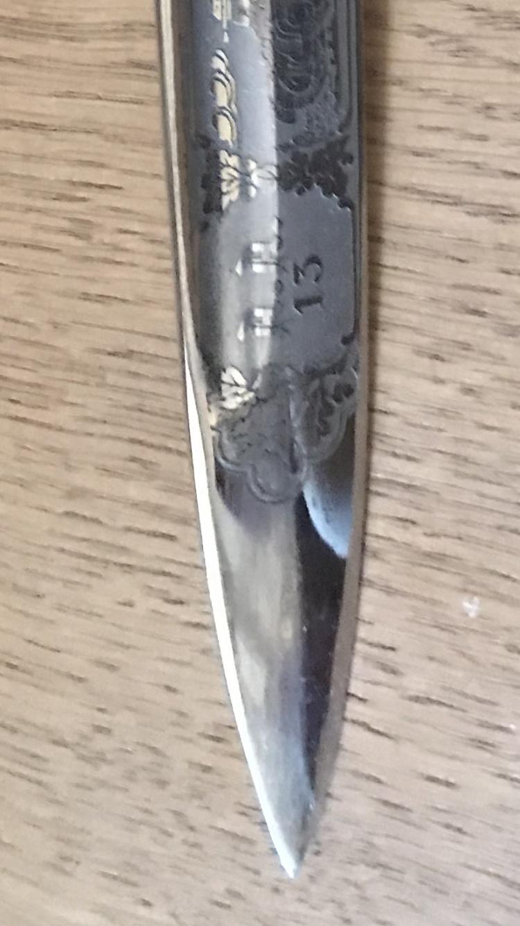 Dague allemande identification 2862dd10