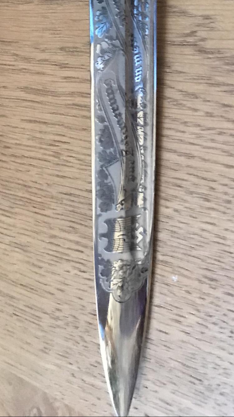 Dague allemande identification Dd4d8010