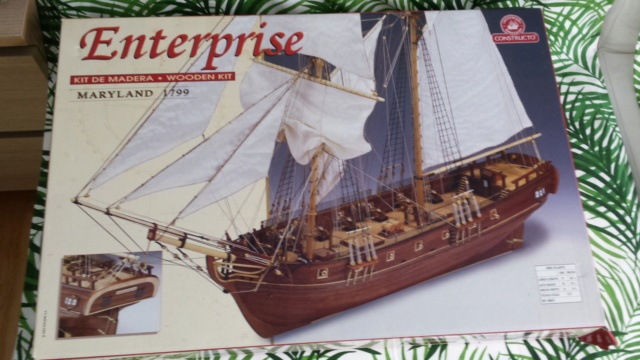 Goélette Enterprise MARYLAND 1799 1/51 de CONSTRUCTION 20191020