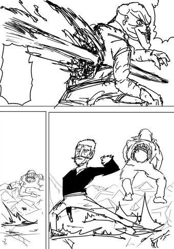 Pontos relevantes do novo capitulo da WebComic ( One Punch Man) Bang_k10