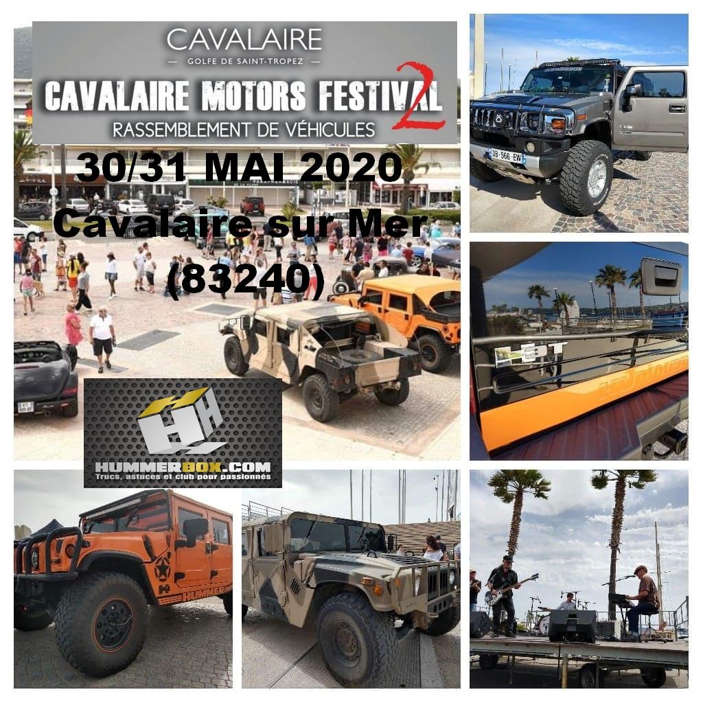 Cavalaire Motors Festival II les 30 et 31 Mai 2020 à Cavalaire sur Mer (83240) avec le Club Hummerbox 84291610