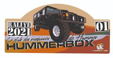 La 11 ème édition du Rallye Hummerbox les 4/5/6 Juin 2021 en Corrèze(19300) - Page 2 Plaque10