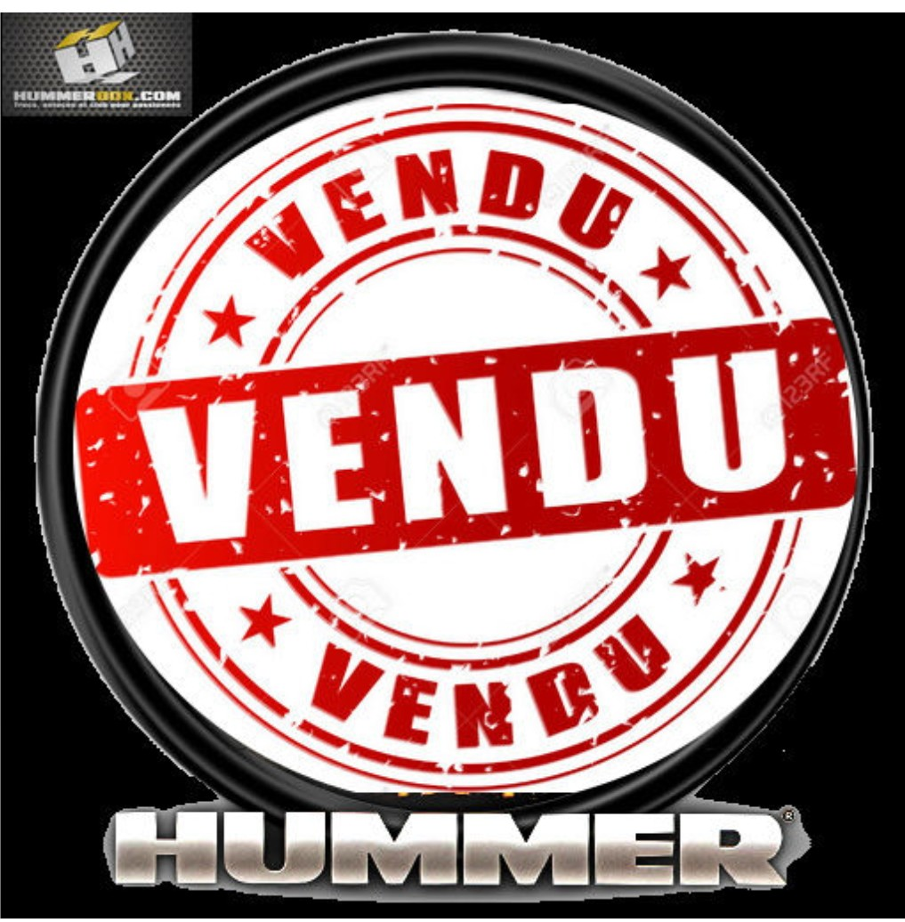vendre Mon HUMMER H2 VENDU Screen15