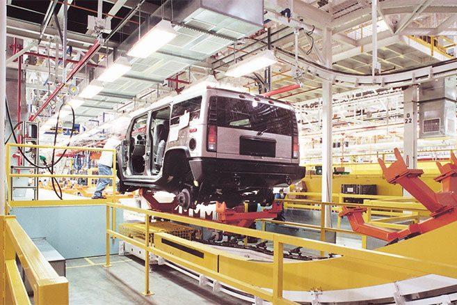 Cette ex-usine de Hummer fabriquera des voitures électriques Usine-10