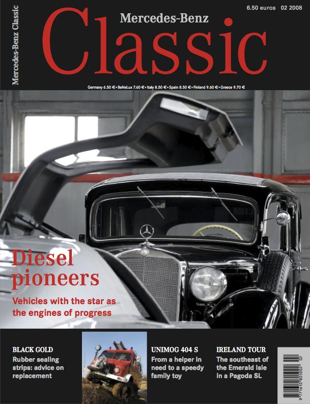"Lot de 8 magazines ""Mercedes classic"" en Anglais 2008_a11"