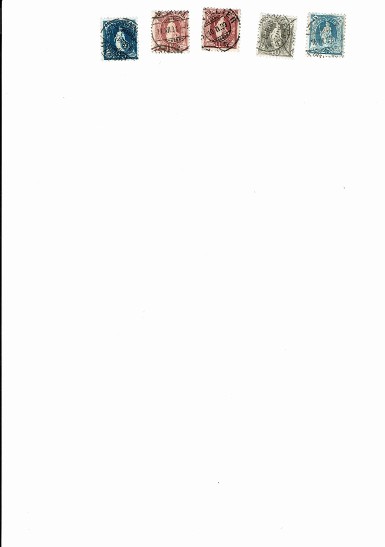 Stehende Helvetia um 1900 Cci16110