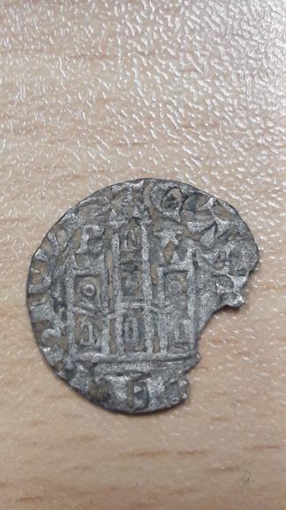Dinero coronado o cornado de Alfonso XI. Burgos 15810614