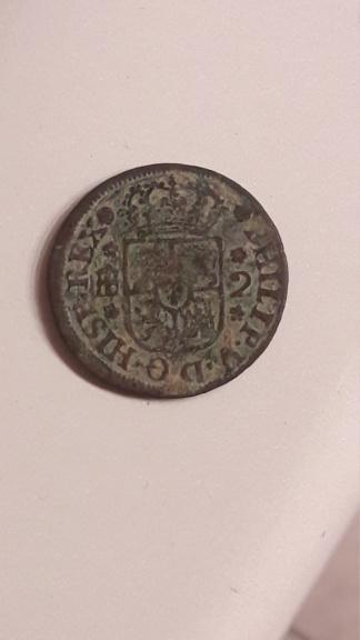2 maravedís Felipe V Segovia 1744 15823210