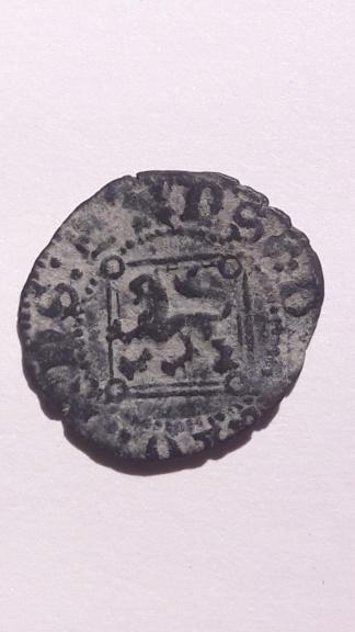 Blanca del ordenamiento de Segovia de 1471 de Enrique IV. Sevilla 15824111