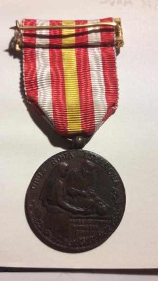 Medalla Premio a la constancia cruz roja española 15824116