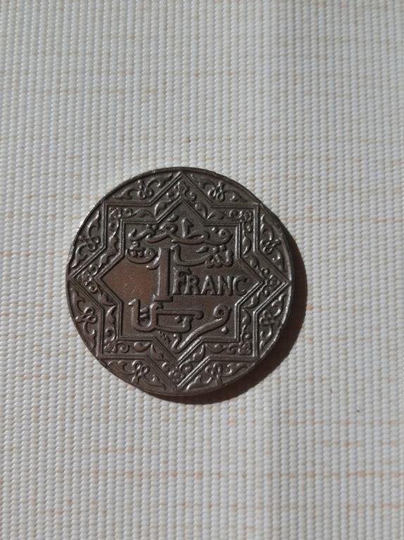 Franco 1924 (Thunderbolt). Protectorado de Marruecos. 15824611