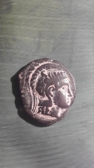 AE22 del Cuestor C.Publilius (146 a.C.). Anfípolis 15888711