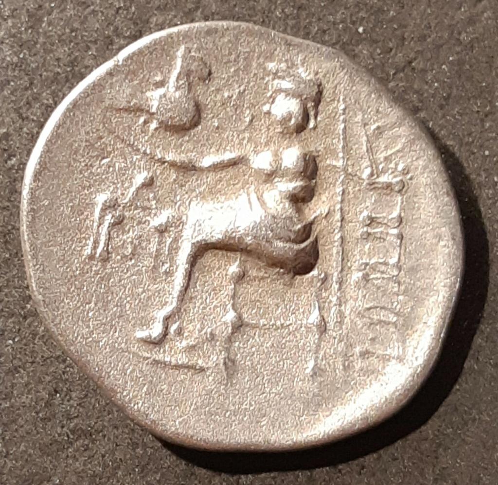 Dracma imitativo de Filipo III de Macedonia. Este de Europa (Celtas Danubio). III-II a.C. 20210111