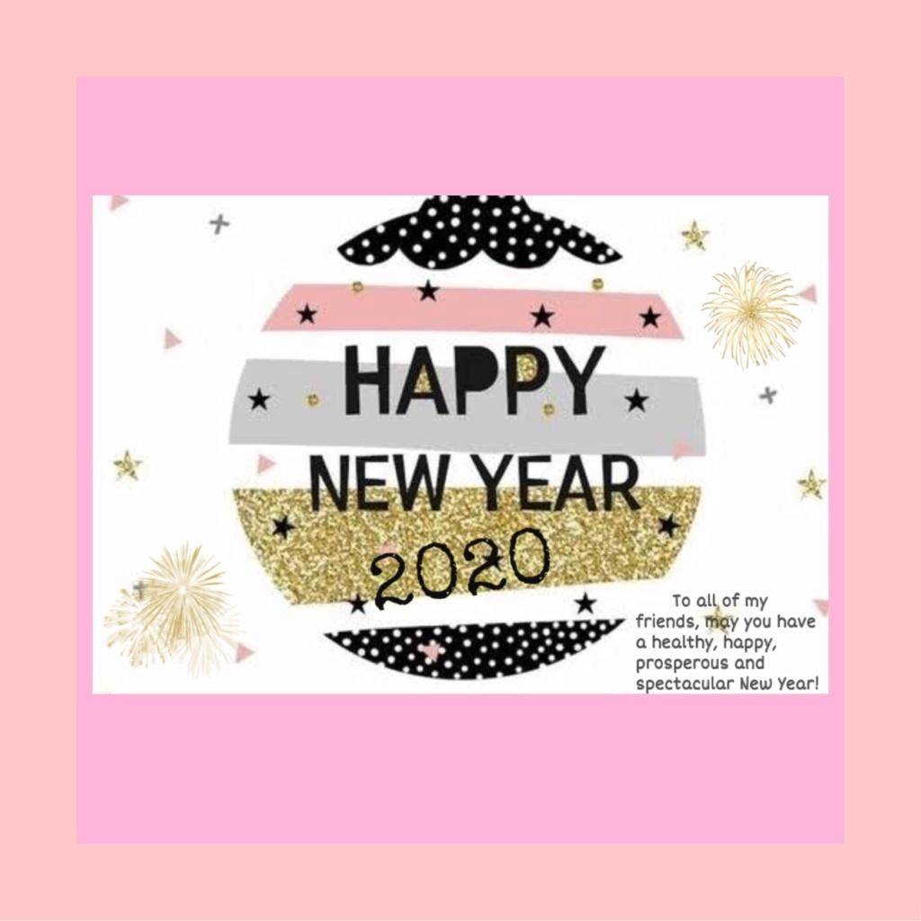 Happy New Year 2020; DEWWED 031 0bd19410