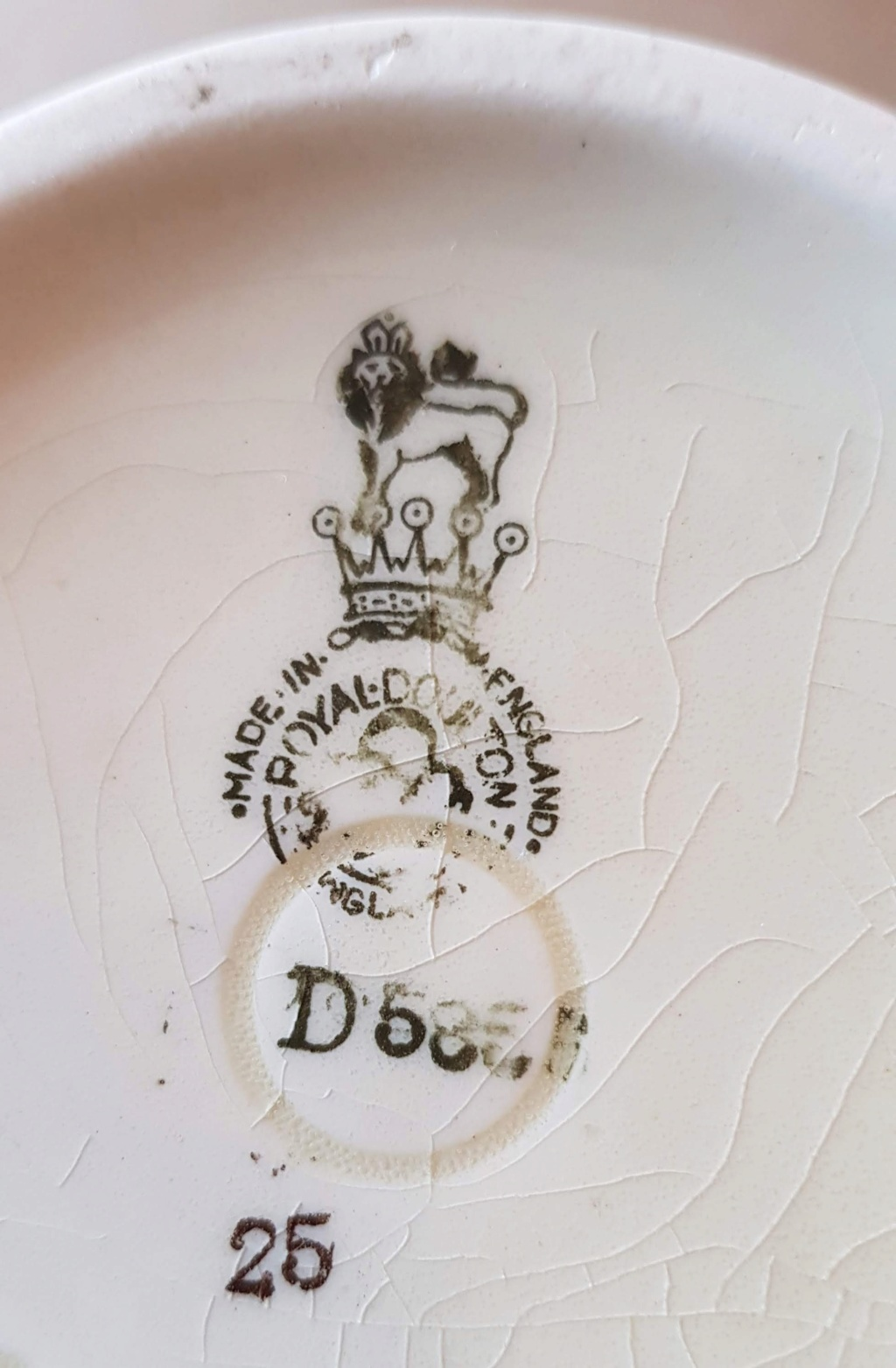 Royal Doulton 19th or 20th Century 20191213