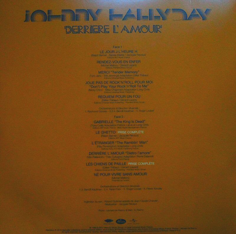 Liste des premiers vinyles Verso10