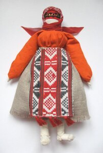 МК Рябинка (традиционная кукла- оберег) 0_61ac13