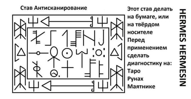 "Став ""Антисканирование"" 13581810"