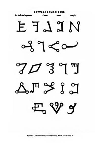Волшебный алфавит Transitus Fluvii 2eb9e310