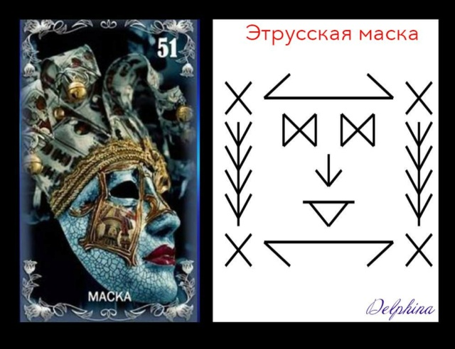 """Став защита """"Этрусская маска"""" с фетчем 34058310"""