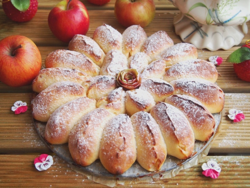 Отрывной яблочный пирог 34339310