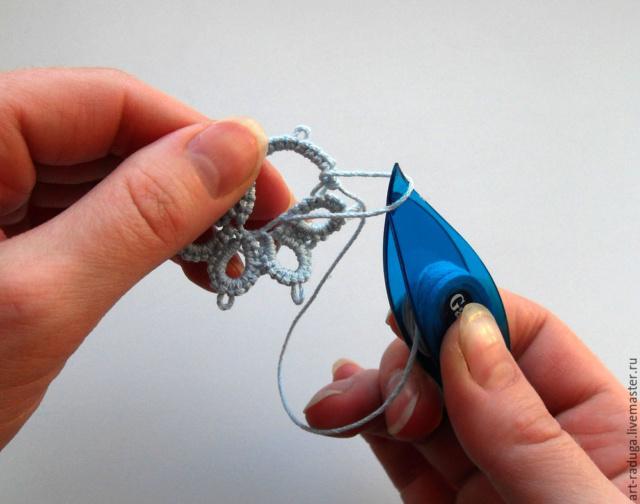 Плетем замкнутый мотив одним челноком 8fea5e10