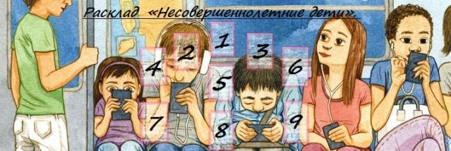 Расклад «Несовершеннолетние дети».  9g_tb-10