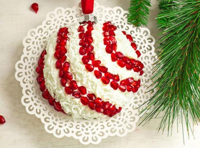 Салат «Новогодний шар на елку» _26