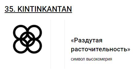 Африканские символы Adinkra __1810