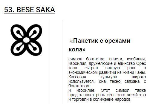 Африканские символы Adinkra __3610