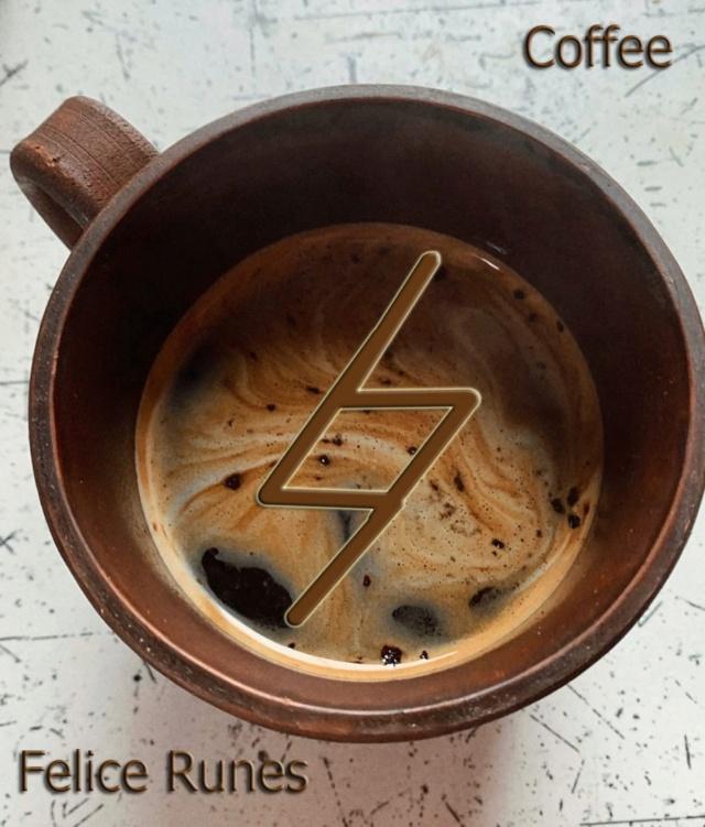 """Формула """"Кофе"""" автор Felice Runes Ak-55810"""