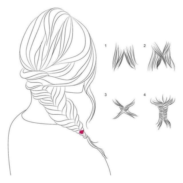 Способы плетения кос Q4grbd10