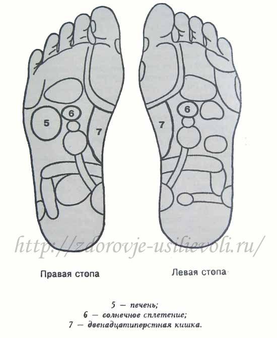 Рефлекторный массаж стоп Reflek11