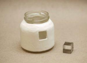 Сказочные домики из банок и полимерной глины Skazoc12