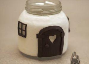 Сказочные домики из банок и полимерной глины Skazoc14