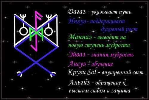Став Став Сова (духовный рост, мудрость,улучшение восприятия) Sova-d10