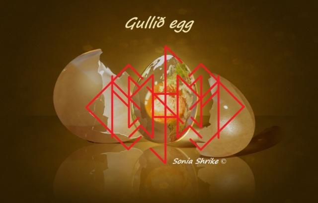 Gullið egg (чистка с отжигом на яйцо) U8710