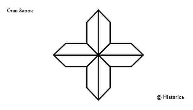 Став  «Зарок» (достижение поставленной цели) Zarok-10