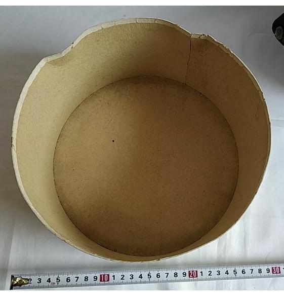 Boîte rangement casquette officier marine impériale Japonaise 73f80410