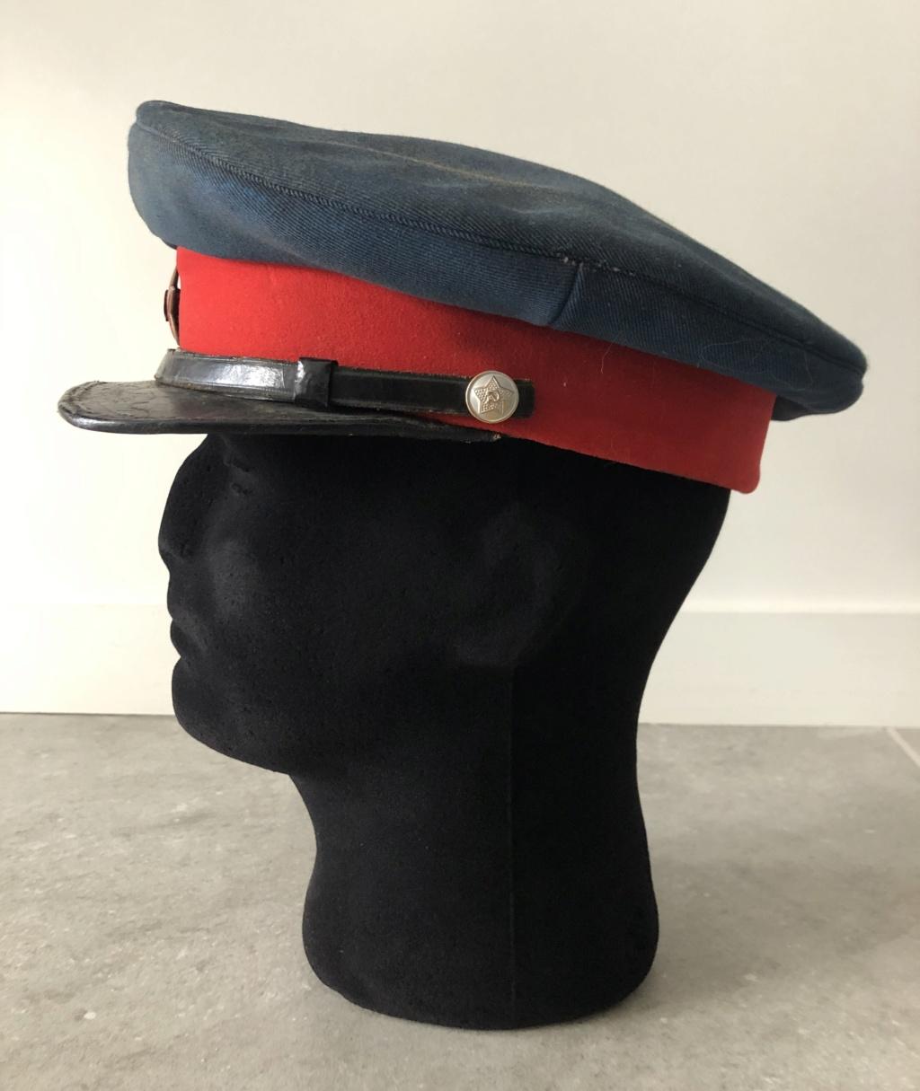 Identification casquette Russe A2154210