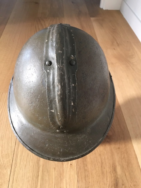 Identifiaction Casque Belge ww2 Belge410